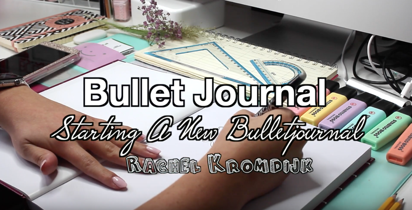How to start a Bullet journal?