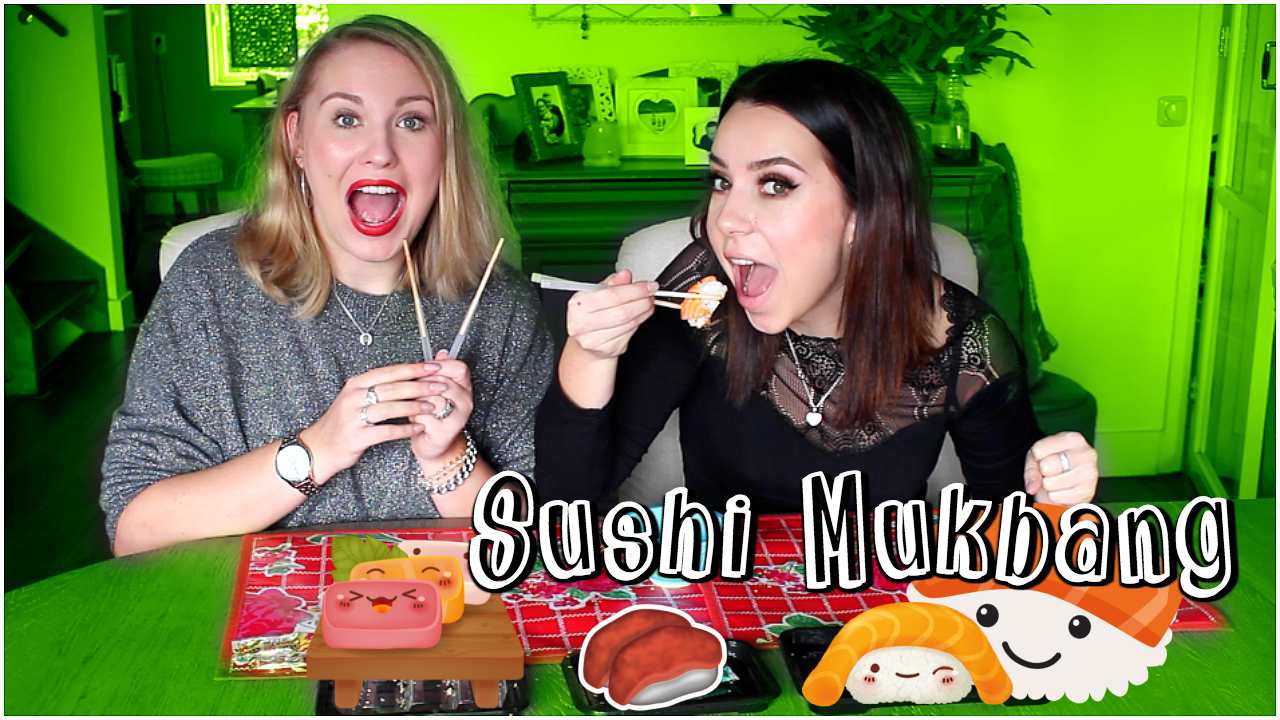 Sushi Mukbang NL