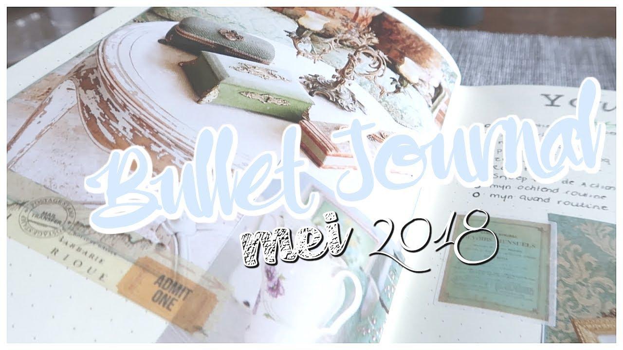 Bullet Journal mei 2018 – plan with me
