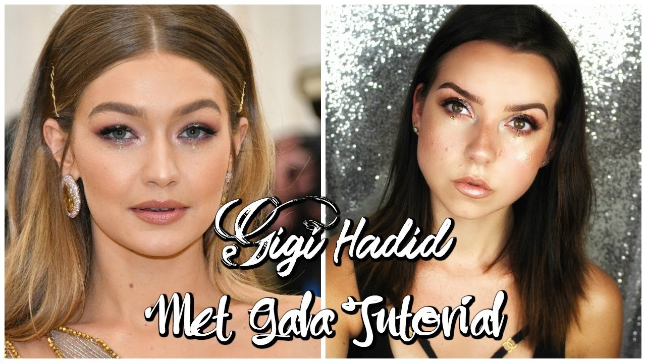 Gigi Hadid Carpet tutorial
