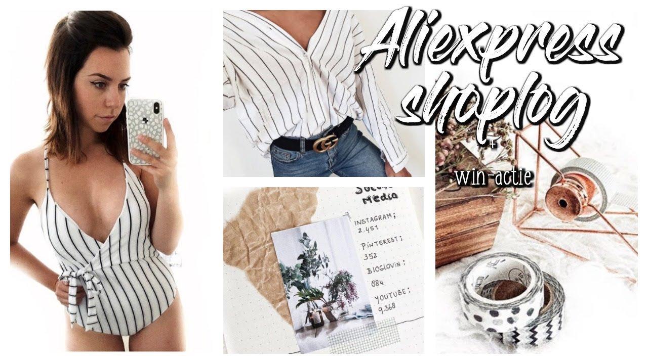 Aliexpress shoplog juli 2018 + TRY ON