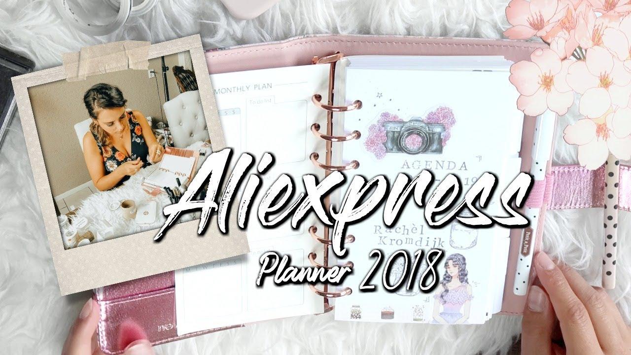 Mijn nieuwe Aliexpress planner indelen