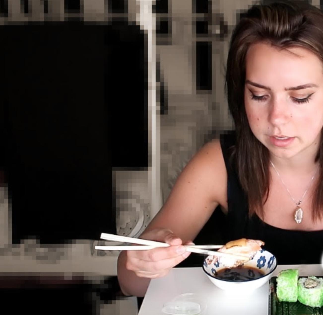 Sushi Mukbang