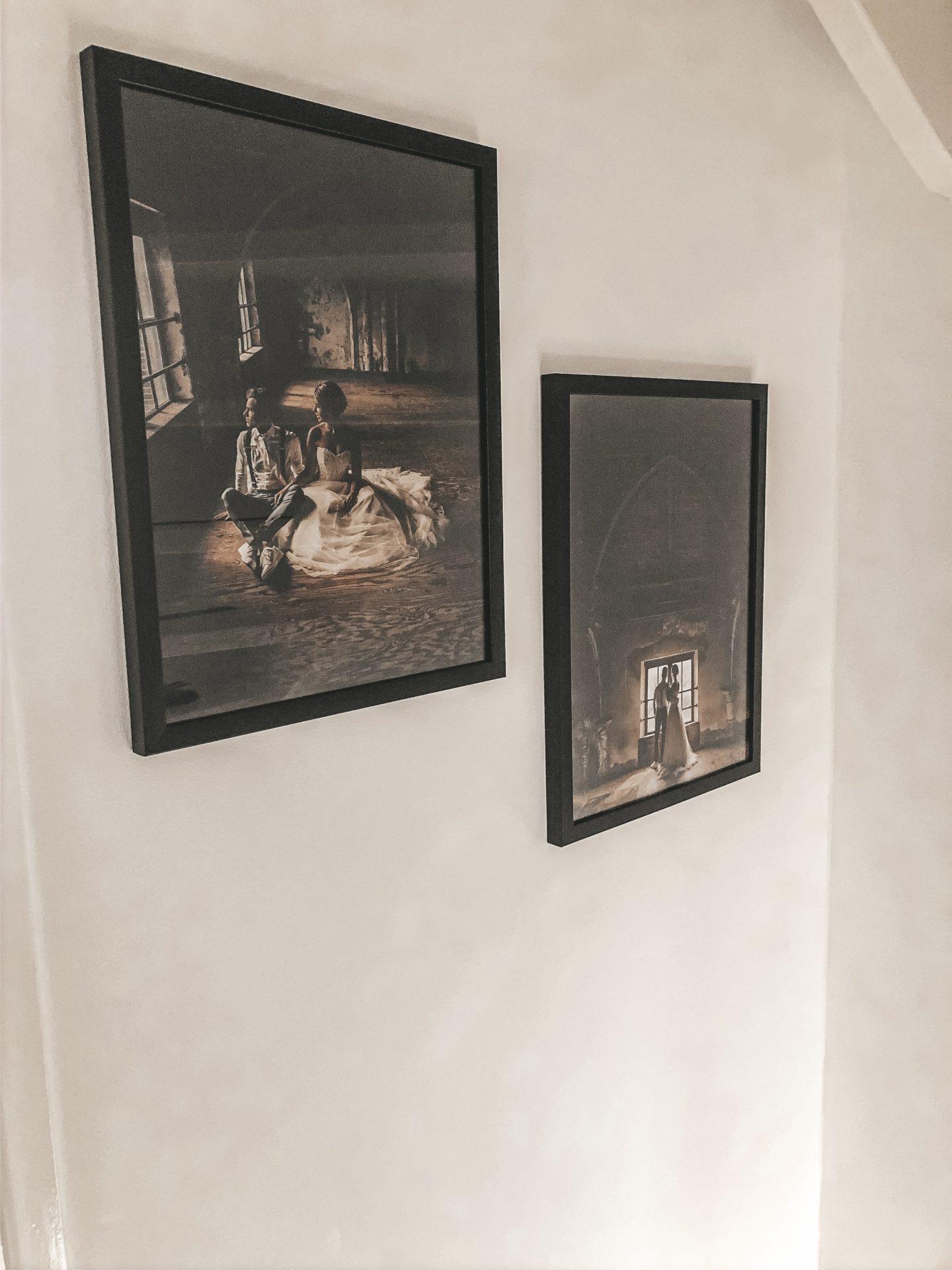 Trouwfoto's plaatsen in je huis